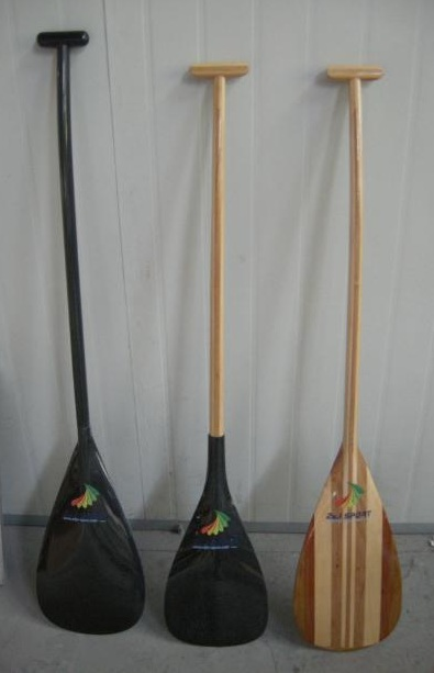 sample paddles available from Paulownia Enterprises