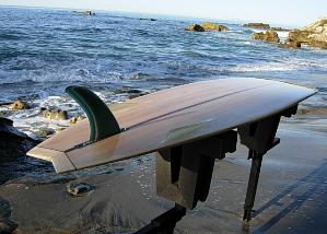 finished Chameleon board. Go to www.woodsurfboardsupply.com for more photos