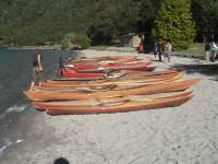 Highlight for Album: NZ kayak builders, Blue Lake, Feb 07