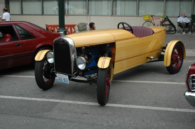 Model A photographed in Vancouver, mid 2007