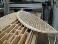Highlight for Album: CNC carved surfboard by Mike G